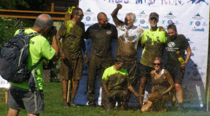 Fun at 2016 Kids Mud Run